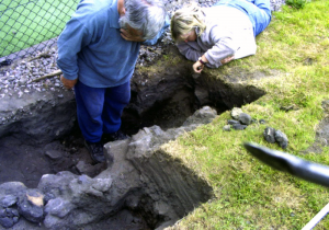 Start of the Dig