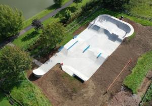 leader Programme Aerial Image of Skatepark